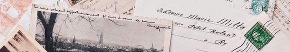 不明の手紙